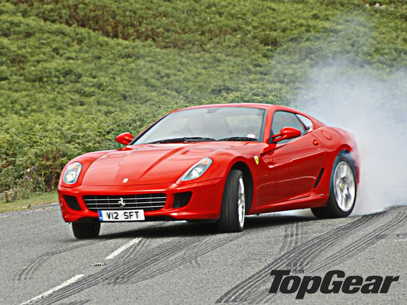Ferrari 599 - Isle of Mann