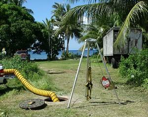 Guam Beach Cable Hole