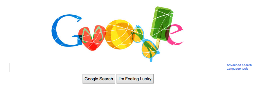 google doodle for australia day 2011