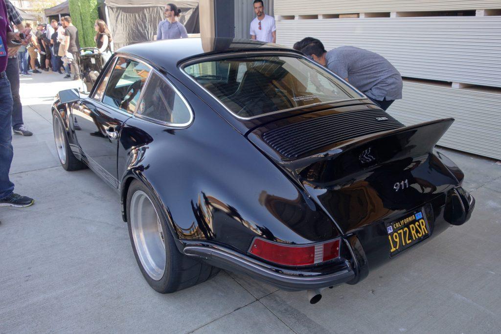 Black Porsche 1972 RSR