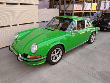 Green 1970 911E